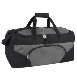 24 Units of 22 Inch Duffel Bag-GREY - Duffel Bags