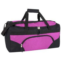 24 Units of 22 Inch Duffel Bags- PINK - Duffel Bags