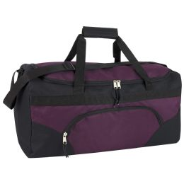 24 Units of 22 Inch Duffel Bags- PURPLE - Duffel Bags