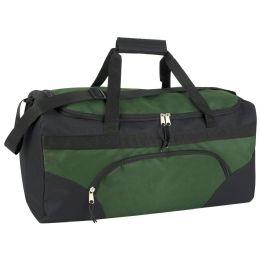 24 Units of 22 Inch Duffel Bags- GREEN - Duffel Bags