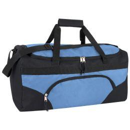 24 Units of 22 Inch Duffel Bags- BLUE - Duffel Bags
