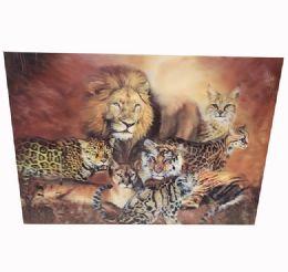 48 Units of Wild Kingdom Canvas Picture - Wall Decor
