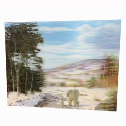 48 Units of Polar Bear Canvas Picture - Wall Decor