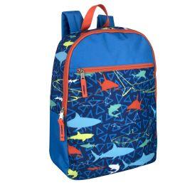 "24 Units of 17 Inch Printed Backpacks - Backpacks 15"" or Less"