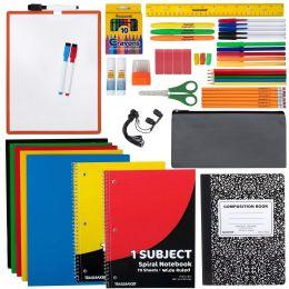 12 Units of 60 Piece School Supply Kit - School Supply Kits