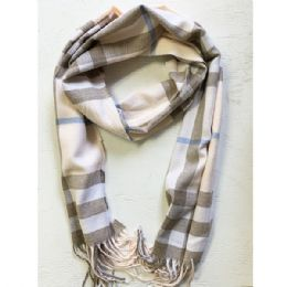 36 Units of Wool Scarf In Assorted Color - Winter Scarves
