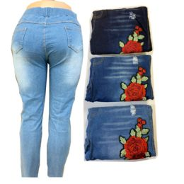 12 Units of Women Jeans Assorted Color - Womens Pants