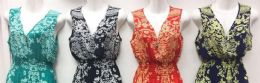 24 Units of Lady's Summer Dress Assorted Color And Size - Womens Sundresses & Fashion