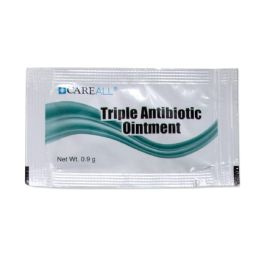 100 Units of Antibiotic Ointment - 0.9 Grams - First Aid and Bandages