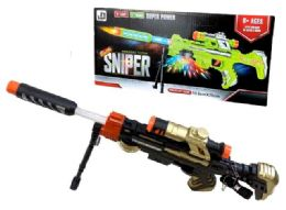 12 Units of Light Up and Sound Sniper Toy Gun - Toy Weapons