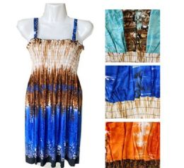 12 Units of Short Spaghetti Strap Dress For Women Summer - Womens Sundresses & Fashion