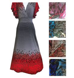 12 Units of Womens Long Dress In Assorted Color And Size - Womens Sundresses & Fashion