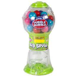 144 Units of Candy Big Spiral Asst Gumballs Fruit Flavored Gumball Machine - Food & Beverage