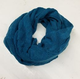 24 Units of Womon infinity scarf In Assorted Color - Womens Fashion Scarves