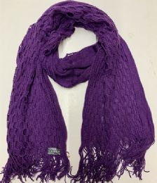 24 Units of Women Winter Scarf In Assorted Color - Winter Scarves