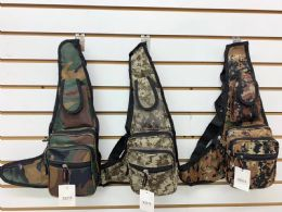 """24 Units of Camo Backpack In Assorted Color - Backpacks 15"""" or Less"""