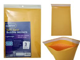 96 Units of 3pc Self-Seal Bubble Mailers 2# - Envelopes