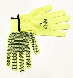 50 Units of Neon Dot Working Gloves - Working Gloves