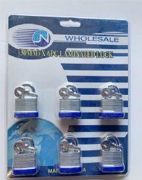 36 Units of 6 Piece Lock Set - Padlocks and Combination Locks