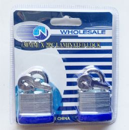 48 Units of 2 Piece Lock Set - Padlocks and Combination Locks