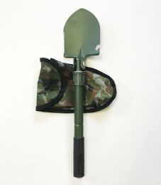 48 Units of Garden Folding Shovel With case - Garden Cleanup Aids
