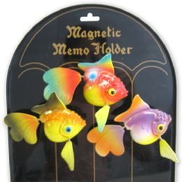 144 Units of Fridge Magnet Goldfish - Refrigerator Magnets