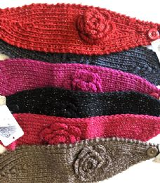 36 Units of Fashion Knitted Headbands Assorted - Ear Warmers