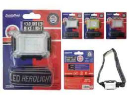 144 Units of Cob Headlight Red Light - Lightbulbs