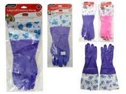 144 Units of Gloves Long Cuff - Kitchen Gloves