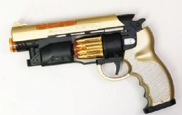 48 Units of Toy Superior Pistol With Lights And Sounds - Toy Weapons
