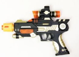48 Units of Toy Machine Gun With Lights And Sounds - Toy Weapons