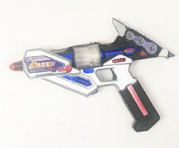 24 Units of Machine Toy Gun With Lights And Sounds - Toy Weapons
