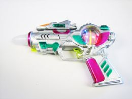 48 Units of Toy Gun with Lights And Sounds - Toy Weapons