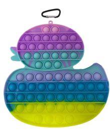 12 Units of Macaron Duck Push Pop It - Fidget Spinners
