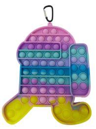 12 Units of Macaron Macaron Running Amung US Pop It - Fidget Spinners