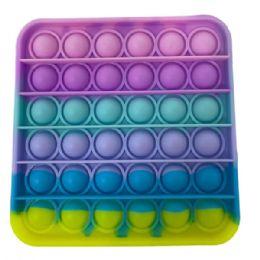 24 Units of Macaron Square Push Pop - Fidget Spinners