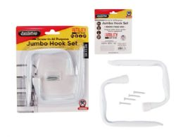 48 Units of 2 Pc Jumbo Hook Set - Hooks