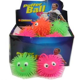 144 Units of Puffer Ball - Light Up Toys