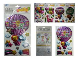 144 Units of 3d Pop-Up Laser Stickers - Arts & Crafts
