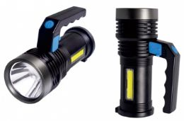 8 Units of Rechargeable Hand Held Cob Led Lantern - Lamps and Lanterns
