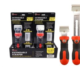 12 Units of Extendable Scraper With Blades - Tool Sets
