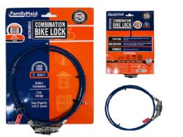 72 Units of Combination Bike Lock - Biking
