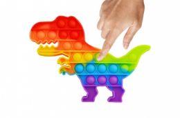 24 Units of Bubble Pop Toys T Rex Dino - Fidget Spinners