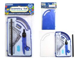 24 Units of Geometry 8pc/Set - Rulers