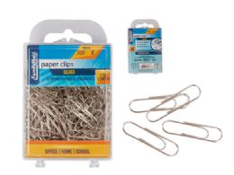 96 Units of Paper Clips 300pc. 28mm Silver - Office Supplies