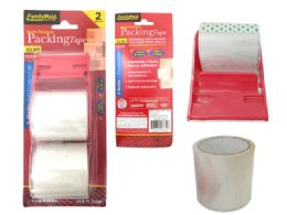 96 Units of 2pc Clear Packing Tape - Tape