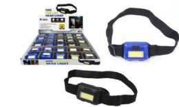 30 Units of Mini Cob LED Head Lamp - Lamps and Lanterns