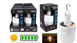 8 Units of Rechargeable Solar Led Light - Lamps and Lanterns