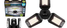 4 Units of Cob LED Garage Light Metal 6500 Lumens - Lamps and Lanterns