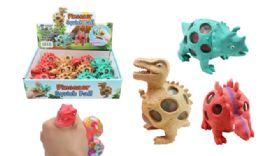 72 Units of Dinosaur Squish Ball - Slime & Squishees